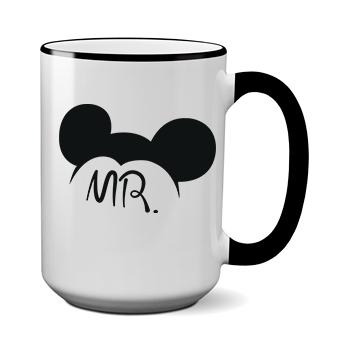 Печать на чашке Микки Mr, Печать на футболках, чашках, кепках. Индивидуальный дизайн