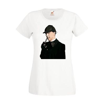 Печать на футболке Шерлок, Печать на футболках, чашках, кепках. Индивидуальный дизайн