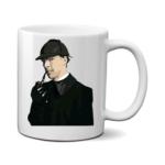 Печать на чашке Benedict Cumberbatch, Печать на футболках, чашках, кепках. Индивидуальный дизайн