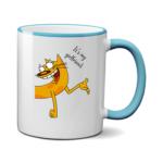 Печать на чашке Кот, Печать на футболках, чашках, кепках. Индивидуальный дизайн