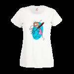 Печать на футболке Красота, Печать на футболках, чашках, кепках. Индивидуальный дизайн