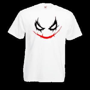 Друк на футболці Джокер, Друк на футболках, чашці, кепці. Індивідуальний дизайн