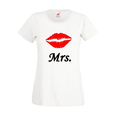 Печать на футболке Mrs, Печать на футболках, чашках, кепках. Индивидуальный дизайн