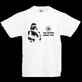 Печать на футболке Звездные войны Empire needs, Печать на футболках, чашках, кепках. Индивидуальный дизайн