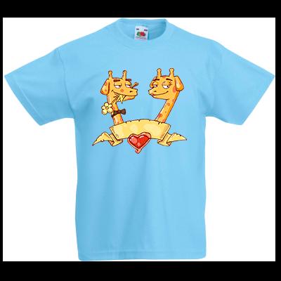 Печать на футболке Жирафы, Печать на футболках, чашках, кепках. Индивидуальный дизайн