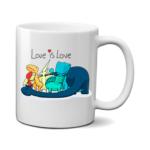 Печать на чашке Динозаврики, Печать на футболках, чашках, кепках. Индивидуальный дизайн
