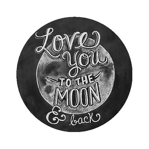 Печать на футболке Луна, Печать на футболках, чашках, кепках. Индивидуальный дизайн