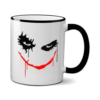 Печать на чашке Джокер, Печать на футболках, чашках, кепках. Индивидуальный дизайн