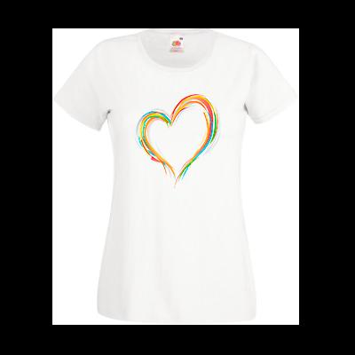 Печать на футболке Сердце, Печать на футболках, чашках, кепках. Индивидуальный дизайн
