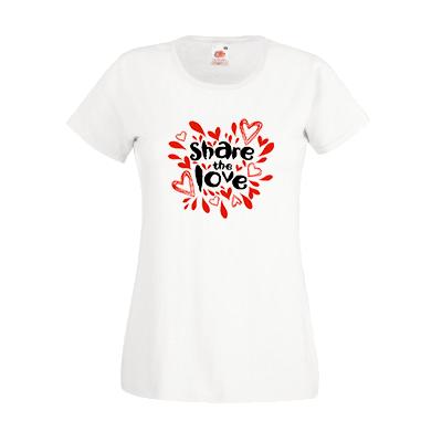 Печать на футболке Любовь, Печать на футболках, чашках, кепках. Индивидуальный дизайн