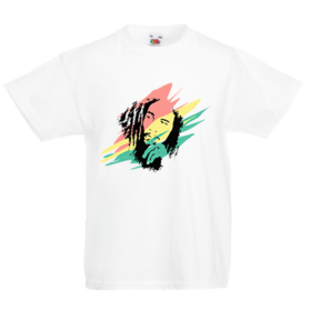 Печать на футболке Bob marley, Печать на футболках, чашках, кепках. Индивидуальный дизайн