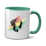 Печать на чашке Bob marley, Печать на футболках, чашках, кепках. Индивидуальный дизайн