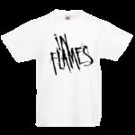Печать на футболке In Flames, Печать на футболках, чашках, кепках. Индивидуальный дизайн