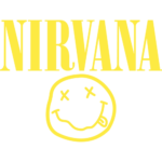 Печать на футболке Nirvana, Печать на футболках, чашках, кепках. Индивидуальный дизайн