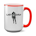 Печать на чашке Lady Gaga, Печать на футболках, чашках, кепках. Индивидуальный дизайн