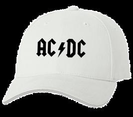 Печать на кепке промо AC DC, Печать на футболках, чашках, кепках. Индивидуальный дизайн