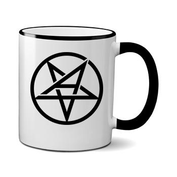Печать на чашке Anthrax, Печать на футболках, чашках, кепках. Индивидуальный дизайн