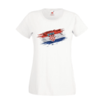 Печать на футболке Хорватия, Печать на футболках, чашках, кепках. Индивидуальный дизайн
