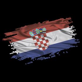Печать на футболке Флаг Хорватия, Печать на футболках, чашках, кепках. Индивидуальный дизайн