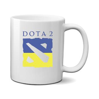 Печать на чашке Dota 2, Печать на футболках, чашках, кепках. Индивидуальный дизайн