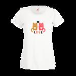 Печать на футболке Коты, Печать на футболках, чашках, кепках. Индивидуальный дизайн
