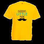 Печать на футболке Маленький мужчина, Печать на футболках, чашках, кепках. Индивидуальный дизайн