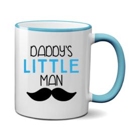 Печать на чашке Маленький мужчина, Печать на футболках, чашках, кепках. Индивидуальный дизайн