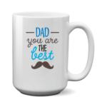 Печать на чашке Лучший Папа, Печать на футболках, чашках, кепках. Индивидуальный дизайн