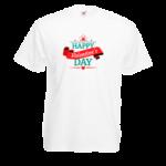 Печать на футболке День Святого Валентина, Печать на футболках, чашках, кепках. Индивидуальный дизайн