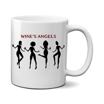 Печать на чашке Ангелы, Печать на футболках, чашках, кепках. Индивидуальный дизайн