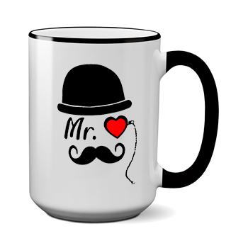 Печать на чашке Мистер, Печать на футболках, чашках, кепках. Индивидуальный дизайн