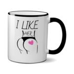 Печать на чашке Она, Печать на футболках, чашках, кепках. Индивидуальный дизайн