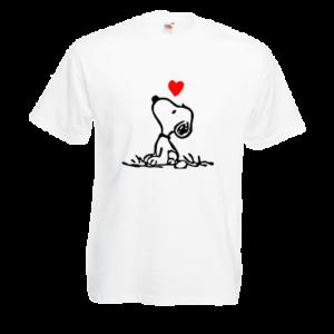 Печать на футболке Собачка, Печать на футболках, чашках, кепках. Индивидуальный дизайн