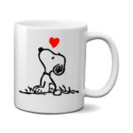 Печать на чашке Собачка, Печать на футболках, чашках, кепках. Индивидуальный дизайн