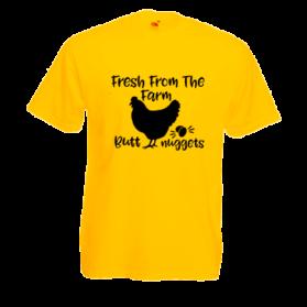 Печать на футболке Курица, Печать на футболках, чашках, кепках. Индивидуальный дизайн