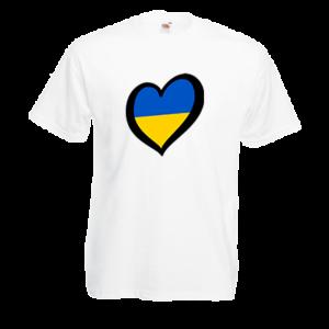 Печать на футболке Украина, Печать на футболках, чашках, кепках. Индивидуальный дизайн