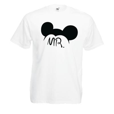 Друк на футболці Міккі Mr, Друк на футболках, чашці, кепці. Індивідуальний дизайн