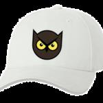 Печать на кепке промо Злая сова, Печать на футболках, чашках, кепках. Индивидуальный дизайн