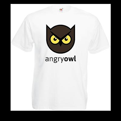 Друк на футболці Зла Сова, Печать на футболках, чашках, кепках. Индивидуальный дизайн