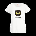 Печать на футболке Злая сова, Печать на футболках, чашках, кепках. Индивидуальный дизайн