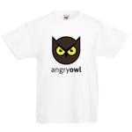 Друк на футболці Люта сова, Друк на футболках, чашці, кепці. Індивідуальний дизайн