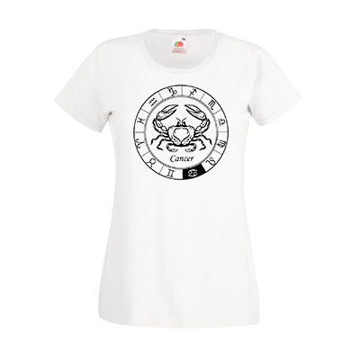 Печать на футболке Рак, Печать на футболках, чашках, кепках. Индивидуальный дизайн