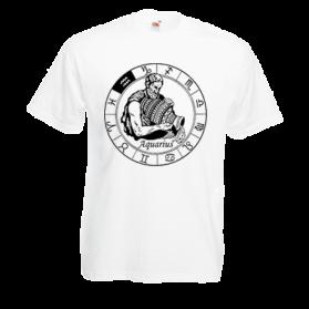 Печать на футболке Водолей, Печать на футболках, чашках, кепках. Индивидуальный дизайн