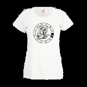 Печать на футболке Дева, Печать на футболках, чашках, кепках. Индивидуальный дизайн