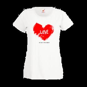 Печать на футболках Сердце, Печать на футболках, чашках, кепках. Индивидуальный дизайн