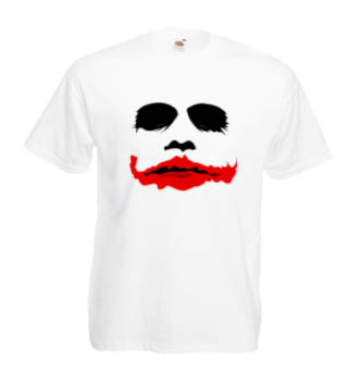 Печать на футболке Джокер, Печать на футболках, чашках, кепках. Индивидуальный дизайн