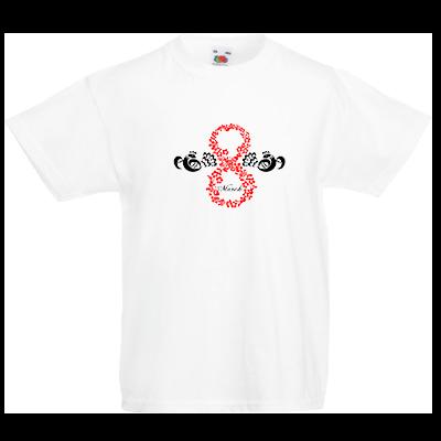 Друк на футболці March, Друк на футболках, чашці, кепці. Індивідуальний дизайн