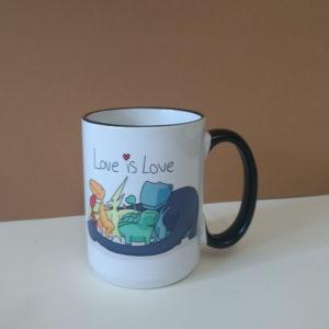 """Чашка с печатью """"Динозаврики"""". Отличный подарок на День рождения."""