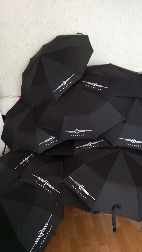 Печать на зонтах.