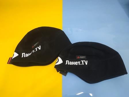 Печать на шапке Киев. Lanet TV. Заказать печать Украина. Печать с доставкой по Украине. Заказать печать на кепке. Купить кепку.